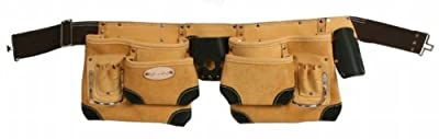Style n Craft 93-428 10 Pocket Top Grain Tool Belt
