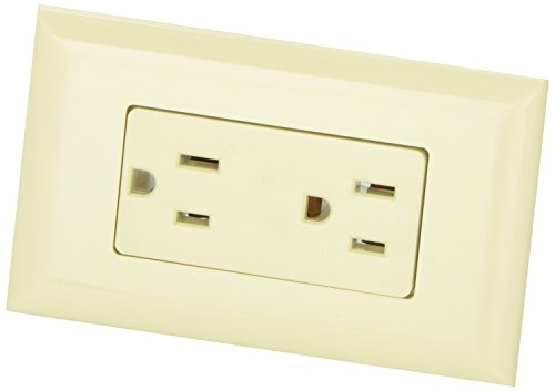 Diamond Group Wdr15Iv Ivory 15 Amp Decor Speed Box Receptacle