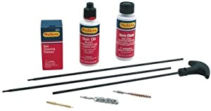 Outers .17 Caliber Aluminum Rifle Rod Cleaning Kit (Hard Case)