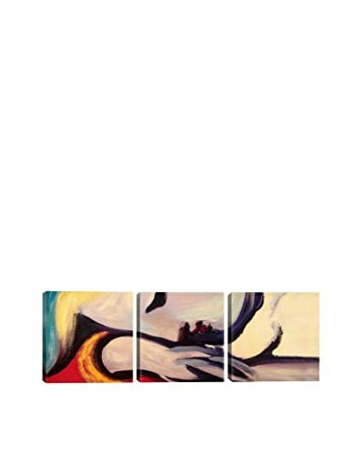 Pablo Picasso The Rest (Panoramic) 3-Piece Canvas Print