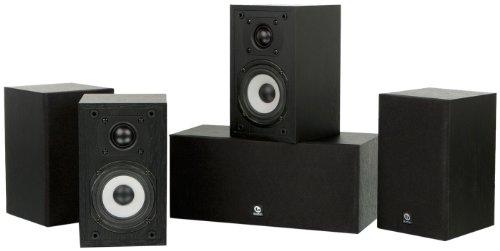 Boston Acoustics Classic II 5.0 Speaker Package, Black Walnut