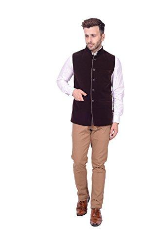 Lee Marc Jute Men's Blue Blazer(LEMC13_44)  available at amazon for Rs.850