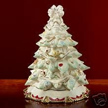 Lenox Christmas Tree Sweet Family Cookie Jar