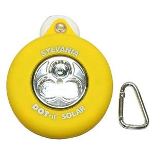 Sylvania 36006 - DOT-it Solar-Powered 3 LED Yellow Tap Light Night Light (DOTIT/SOLAR/Y/BL)
