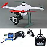 Blade 350 QX2 AP Combo RTF Quadcopter with SAFE Technology, 10 Minutes Flight Time, Large 3S 3000mAh Flight Battery, GPS, 5.8Ghz Wi-Fi