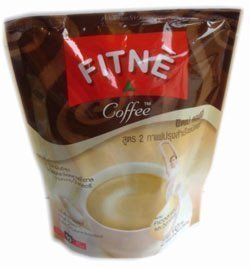 Fitne Instant Coffee Mixed Collagen With Vitamin C 15G. Pack 10Sachets