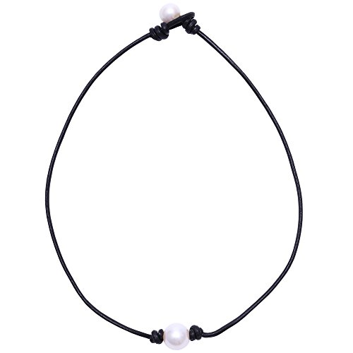 aobei-pearl-single-cultured-freshwater-pearl-necklace-choker-for-women-genuine-leather-jewelry-handm