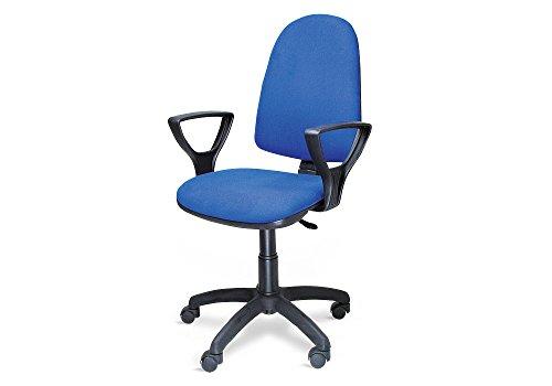 Sedia Poltrona Ufficio Operativa Girevole Casa Studio Blu