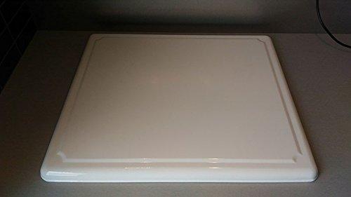 Teamotep-Plaque-de-protection-pour-plaque-vitrocramique-Blanc