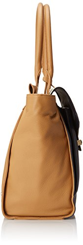Vince Camuto Julia Travel Tote, Peacoat/Oak, One Size