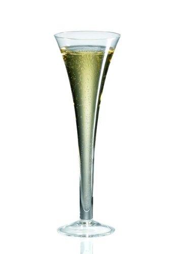 Ravenscroft Crystal Flute Hollow Stem Glass, Set of 4