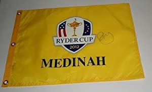Buy RORY MCILROY signed 2012 Ryder Cup flag W COA *EUROPE 6 - Autographed Pin Flags by Sports Memorabilia
