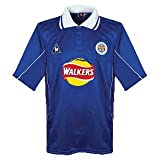 00-01 Leicester City Home Jersey by Le Coq Sportif
