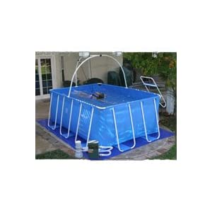 Ipool Deluxe Above Ground Exercise Swimming Pool Patio Lawn Garden Best Buy