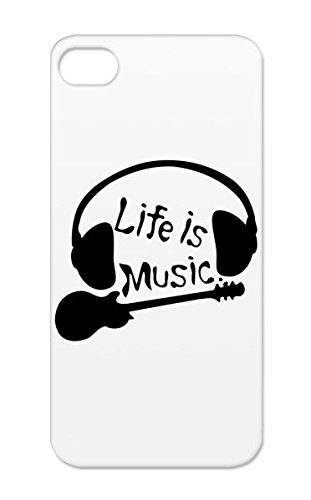 Life Line Art Music Headphones Guitarist Music Rock Quotation Art Design Tex Idiom Cool Guitars Guitar Vector Miscellaneous Graphic Illustration Is Tpu Black For Iphone 5 Life Txt Amp Case Cover