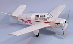 Dumas 318 Bonanza Model 35 - 30 Inch Wingspan Wooden Model Airplane