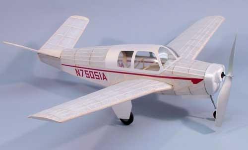 Bonanza Model 35 Wooden Model Airplane by Dumas