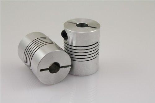 1pcs Br 5mmx12mm D25l30 Cnc Motor Shaft Coupler 5mm To