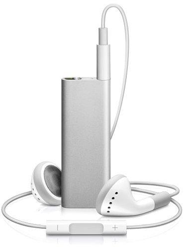 Apple iPod shuffle 第3世代 4GB シルバー MB867J/B 最新モデル
