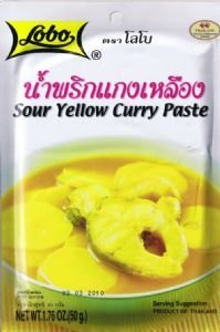 yellow curry paste authentic thai food from thailand kitchen dining