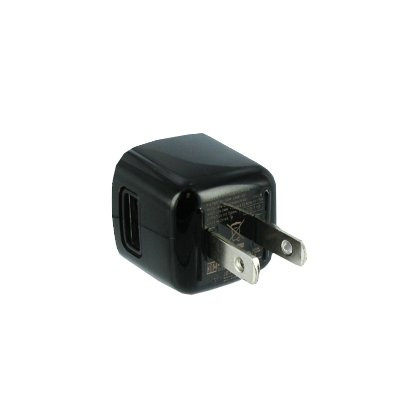 EMPIRE Samsung Focus S / Focus Flash / Illusion / Admire USB Wall Charger Adapter (Black) [EMPIRE Packaging]