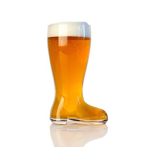 Domestic Corner - Das Boot - 1 Liter Large Beer Boot - Holds Over 2 Beers! (Funny Beer Stein compare prices)