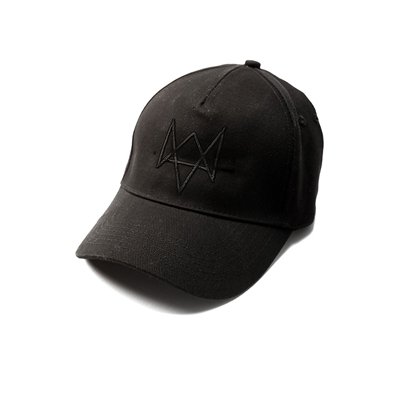 Watch Dogs Standard 5-Panel Basecap With Embroidered Art Black