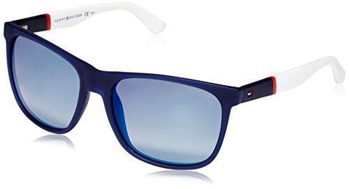 Tommy Hilfiger 1281 FMC Blue Red White 1281S Wayfarer Sunglasses Lens Category