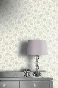 Opera Starflower Wallpaper - Lilac by New A-Brend