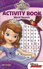 Sofia the First Activity Book Word Search Puzzles - 1