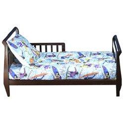 Sport Fad 4 pc Toddler Bedding Set - Blue