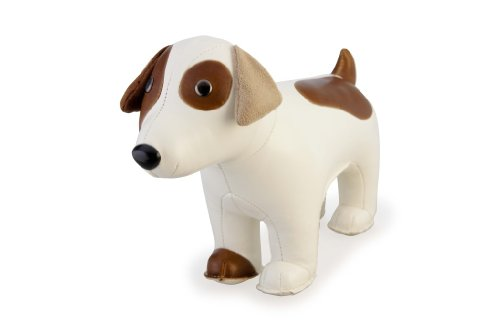 Zuny Classic Russell Terrier Animal Bookend - White (Classic Bookends compare prices)