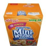 Kelloggs Frosted Whole Grain Mini Wheats, 70-Ounce