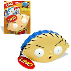 Buy Family Guy UNO – Stewie Head Case