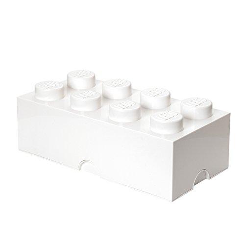 LEGO-Lizenzkollektion-40041735-Stapelbare-Aufbewahrungsbox-8-Noppe-wei