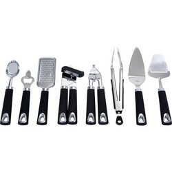 Maxam 8pc Stainless Steel Kitchen Tool Set - KTUT8