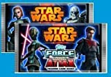 10 Packs of - STAR WARS FORCE ATTAX SERIES 4 TRADING CARD COLLECTION GAME CARDS