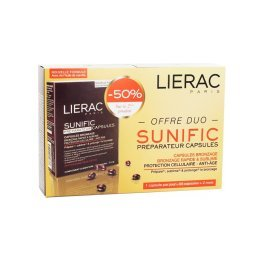 LIERAC - Offerta Duo Sunific preparatore capsule 60 capsule Lierac