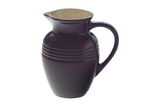 Le Creuset Stoneware 2-Quart Pitcher, Cassis