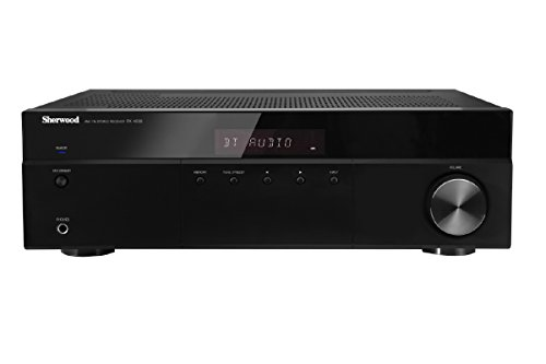 SHERWOOD RX-4508 200-Watt AM/FM Stereo Receiver with Bluetoo