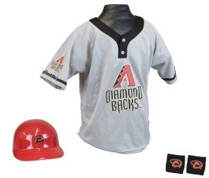 Arizona Diamondbacks Baseball Helmet and Jersey Set by Generic
