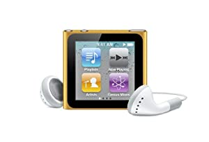 Apple iPod nano 8 GB Orange (6th Generation) (Discontinued by Manufacturer)