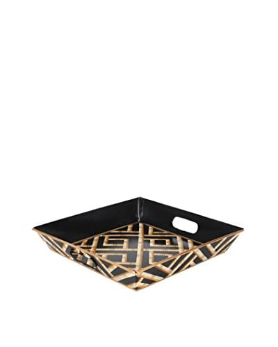 Jayes Bamboo Square Tray, Black As You See