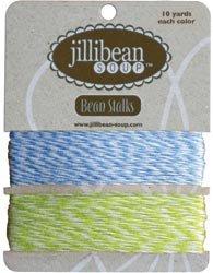 Jillibean Soup 453326 Bean Stalks Twine 20yds-Blue-Green