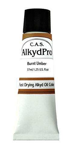 cas-paints-alkydpro-fast-drying-oil-color-paint-tube-37ml-burnt-umber