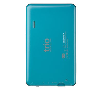 Mach Speed Trio Stealth G2 Tablet - Teal in Color- 7 Dual Core Android 4.0 Internet Tablet with Google Play Store