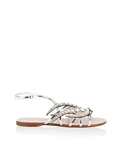 Miu Miu Sandale silber