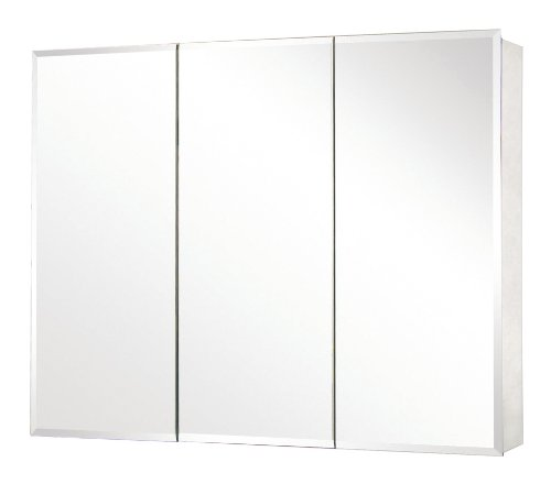 Great Deal! Pegasus SP4590 31-Inch by 48-Inch Tri-View Beveled Mirror Medicine Cabinet, Clear