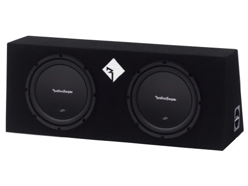 Rockford Fosgate Prime R1L-2X10 Double R1 10-Inch Preloaded Enclosure