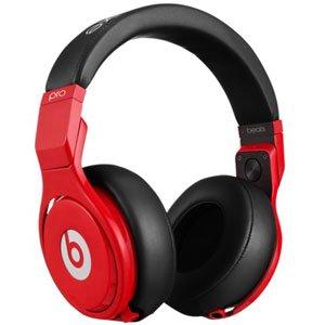 ビーツオーディオ マイク&コントローラー搭載ダイナミック密閉型DJヘッドホン(レッドブラック)Beats Audio BT OV PRO RBL